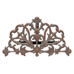 Filigree Hose Holder Copper Verdigris