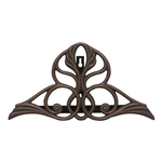 Victorian Hose Holder Oiled-Rubbed Bronze