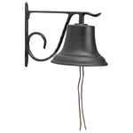 Large Country Bell Black
