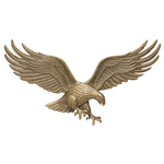 36 in. Wall Eagle Antique Brass
