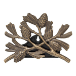 Pinecone Hose Holder French Bronze