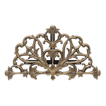 Filigree Hose Holder French Bronze