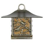 Nuthatch Suet Bird Feeder French Bronze