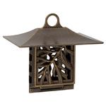 Pinecone Suet Bird Feeder French Bronze