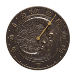 Moon Thermometer French Bronze