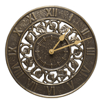 Ivy Silhouette Clock French Bronze