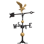 30 Full-Bodied Eagle Weathervane Gold & Bronze