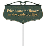 Friends are the Flowers Garden Sign