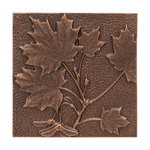 Maple Leaf Wall Decoration Antique Copper