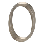 6 in. Classic Number 0 Polished Nickel
