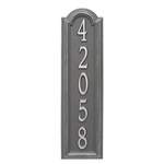 Personalized Manchester Vertical Wall Plaque