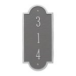 Personalized Richmond Vertical Petite Wall Plaque