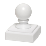 Ball Finial White