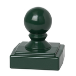 Ball Finial Green