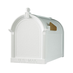 Capital Mailbox White