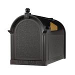 Capital Mailbox Black