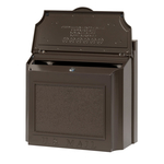 Wall Mailbox French Bronze