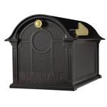 Balmoral Mailbox Black