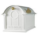 Balmoral Mailbox White
