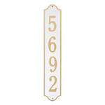 Personalized Admiral Vertical Finish, Estate Wall Plaque
