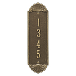 Personalized Shell Vertical 12 in. Wall Plaque