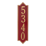 Personalized Norfolk Vertical Finish, Estate Wall Plaque