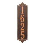 Personalized Lyon Vertical Finish, Estate Wall Plaque