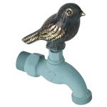 Chickadee Faucet Verdigris Brass