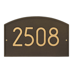 Legacy Modern Personalized Wall Plaque Aged Bronze