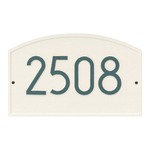 Legacy Modern Personalized Wall Plaque Coastal Green