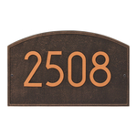 Legacy Modern Personalized Wall Plaque Oil Rubbed Bronze