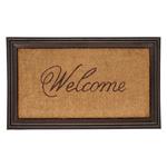 Door Mat with Welcome