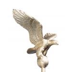 9 in. Small Gold Flagpole Eagle