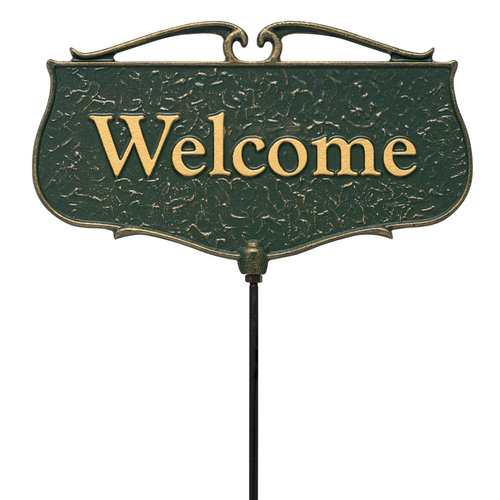 Welcome Garden Entryway Sign