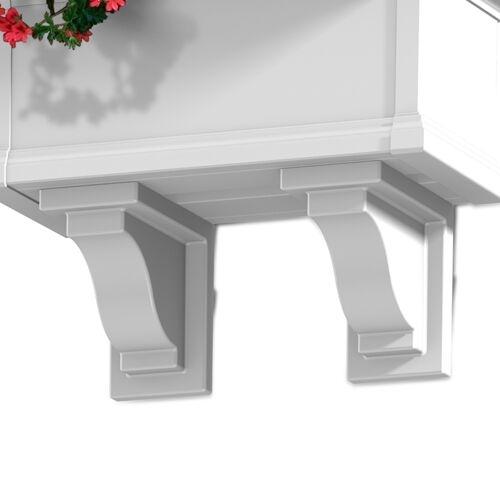 4821W-Yorkshire Decorative Brackets White-email