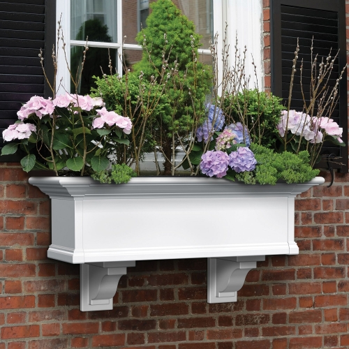 4823-W-Yorkshire 3' Window Box White-Decorative Brackets-LS(2)