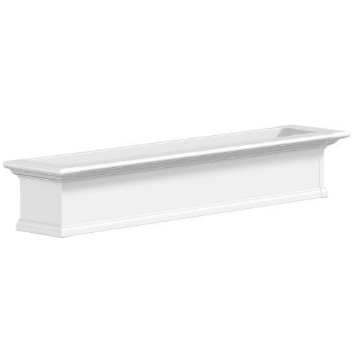 4825-W-Yorkshire 5' Window Box White-PS