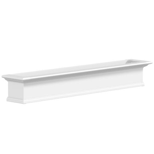 4826-W-Yorkshire 6' Window Box White-PS