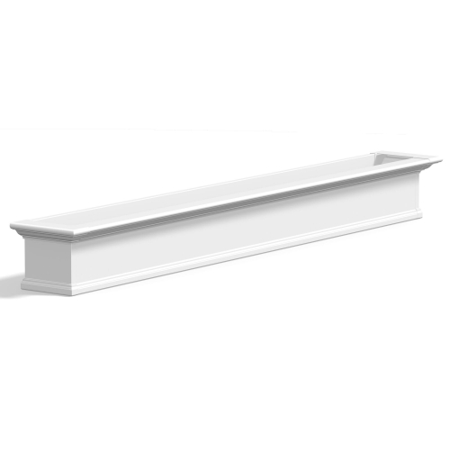 8827-W-Yorkshire 7' Window Box White-PS