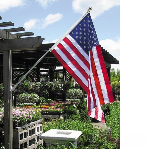 6ft. The Estate Flag Set Featuring The Spinning Pole